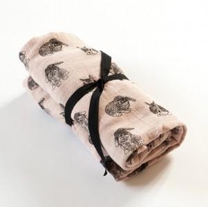 drap-housse-lapin-60x120-cm-en-gaze-de-coton-rose-poudre